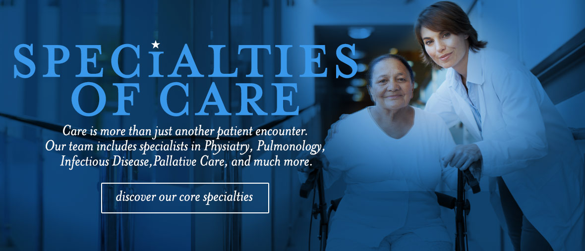 Specialties of Care